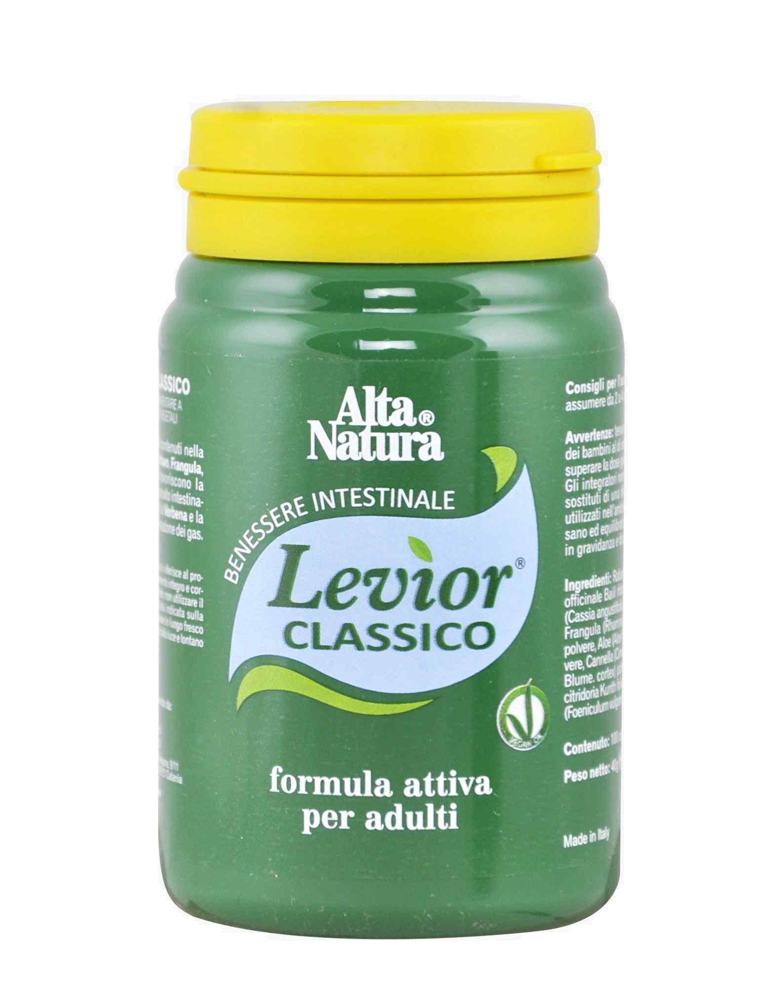 ALTA NATURA LEVIOR CLASSICO 100 COMPRESSE  - Iltuobenessereonline.it