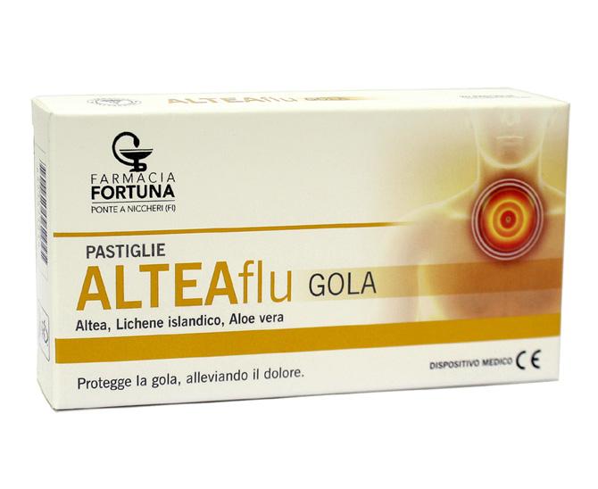 TuaFarmaOnline ALTEAFlu Gola Integratore Apparato Respiratorio 20 Pastiglie - latuafarmaciaonline.it