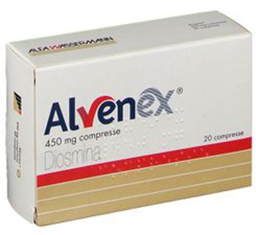 ALVENEX*20CPR 450MG - Farmacia Centrale Dr. Monteleone Adriano