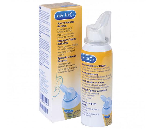 Alvita Spray per l'igiene Auricolare 100 ml - Farmacielo
