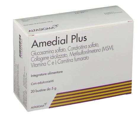 AMEDIAL PLUS 20 BUSTINE 5 G - Farmacia 33