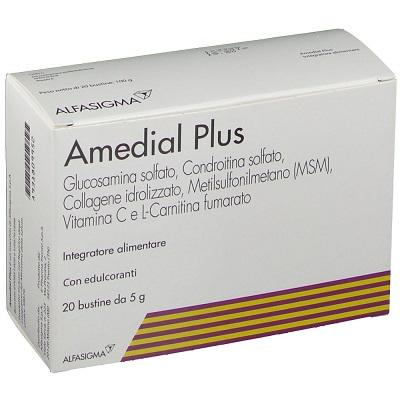 AMEDIAL PLUS 20 BUSTINE 5 G - Farmafamily.it