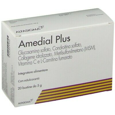 AMEDIAL PLUS 20 BUSTINE 5 G - FARMAPRIME