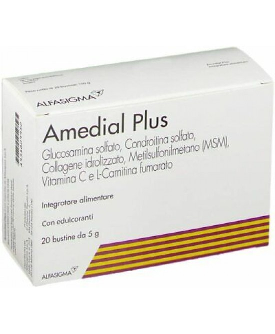 Amedial Plus 20 Bustine da 5gr - Farmaconvenienza.it