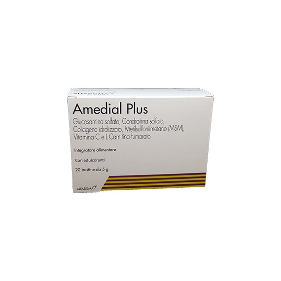 Biofutura Amedial Plus Integratore Alimentare 20 Bustine da 5gr - Farmastar.it