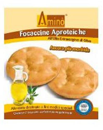 AMINO' FOCACCINE OLIO EXTRA VERGINE DI OLIVA 100 G - Farmacia Centrale Dr. Monteleone Adriano