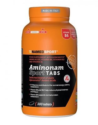 AMINONAM SPORT TABS 300 CPR - La farmacia digitale