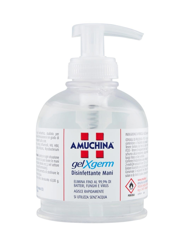 AMUCHINA GEL X-GERM DISINFETTANTE MANI 250 ML - Farmaconvenienza.it