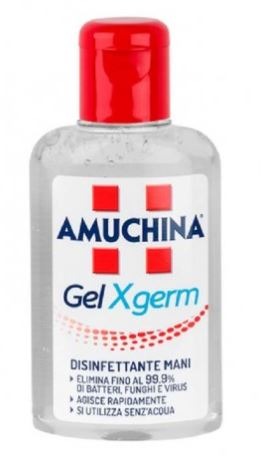AMUCHINA GEL X-GERM DISINFETTANTE MANI 80 ML - Farmacia33
