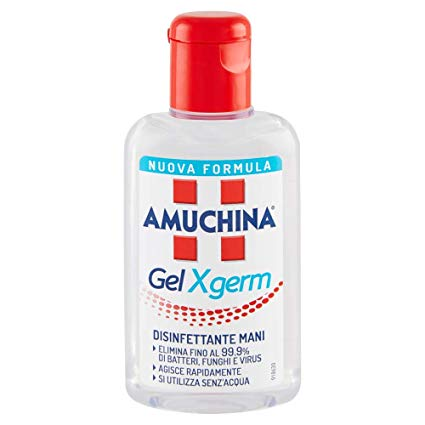 AMUCHINA GEL X-GERM DISINFETTANTE MANI 80 ML - Farmia.it