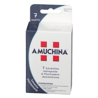 AMUCHINA SALVIETTE DISINFETTANTI 7 PEZZI - Farmafamily.it