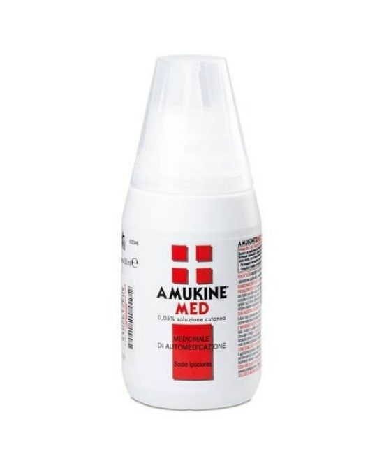 AMUKINE MED Soluzione Cutanea 0,05% 250 ML - Farmapage.it