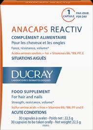 Ducray Anacaps Reactiv Integratore Anticaduta Fortificante 30 Capsule - La tua farmacia online