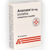 ANANASE*20CPR RIV 40MG - DrStebe