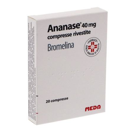 ANANASE*20CPR RIV 40MG - Farmafamily.it