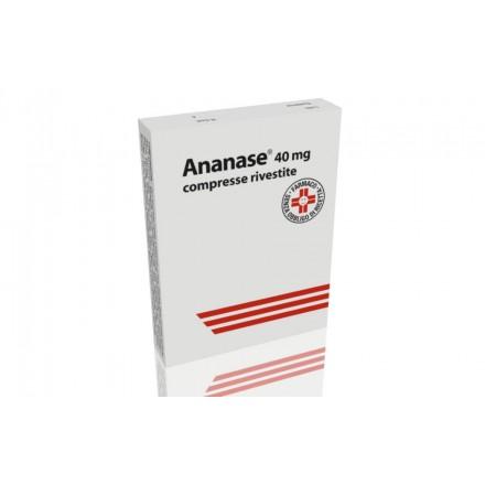Ananase 40mg 20 Compresse Rivestite - Sempredisponibile.it