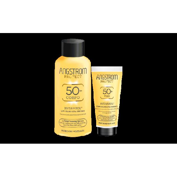 ANGSTROM BIPACCO LATTE 50 + CREMA VISO 50+ - pharmaluna