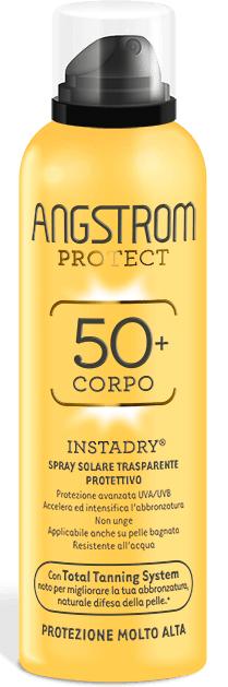 ANGSTROM PROTECT 50 CORPO SPRAY SOLARE TRASPARENTE 150 ML - Farmacia Centrale Dr. Monteleone Adriano