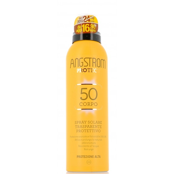 Angstrom Protect Instadry Spray Trasparente Solare Ultra Protettivo SPF50+ 150ml - Arcafarma.it