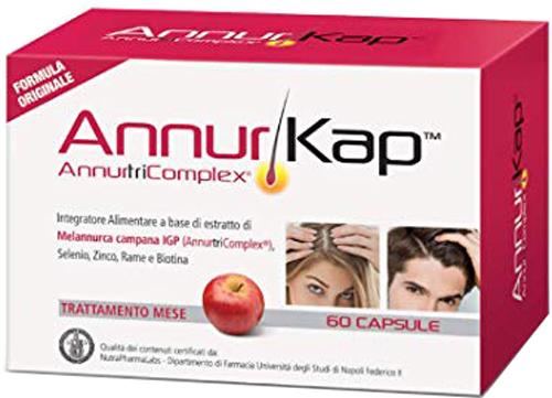 ANNURKAP 60 CAPSULE TRATTAMENTO MESE - Farmacia Centrale Dr. Monteleone Adriano