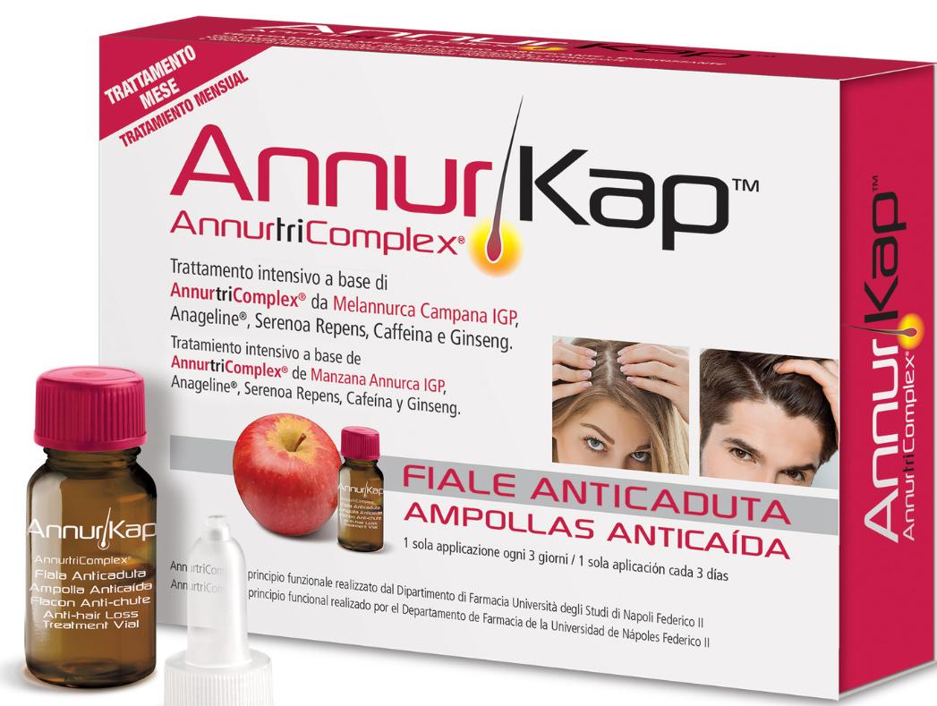 ANNURKAP FIALE ANTICADUTA 10 PEZZI - Farmacia Centrale Dr. Monteleone Adriano