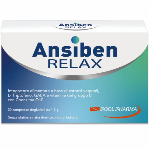 Ansiben Relax 30 Compresse - Arcafarma.it
