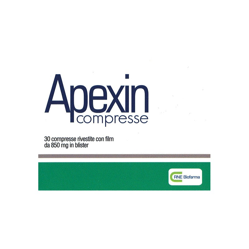 APEXIN COMPRESSE - Farmafamily.it