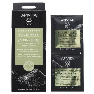 APIVITA EXPRESS ARGILLA VERDE 2 X 8 ML - Farmabros.it