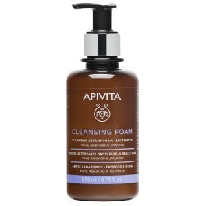 APIVITA FACE&EYE FOAM CLEANSING 200 ML/20 - Farmabros.it
