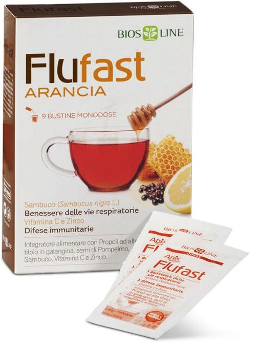 APIX PROPOLI FLUFAST ARANCIA 9 BUSTINE 9 G - Farmacia Centrale Dr. Monteleone Adriano