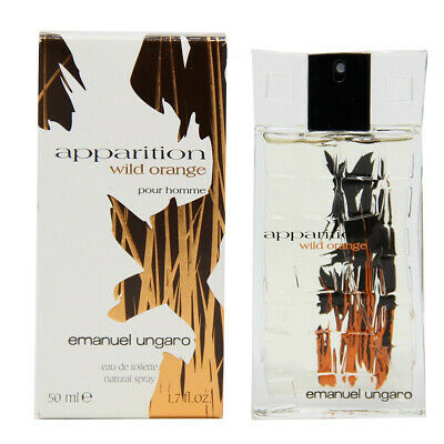 Apparition Wild Orange Pour Homme Emanuel Ungaro Eau De Toilette 50 Ml - Parafarmacia Tranchina