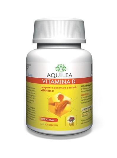 AQUILEA VITAMINA D 100 CONFETTI - Farmacia Castel del Monte