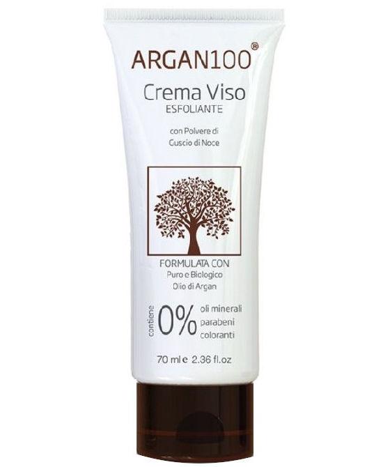 ARGAN100 CREMA VISO ESFOLIANTE 60 ML - Farmaci.me
