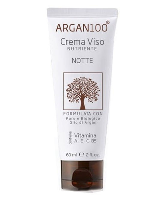 ARGAN100 CREMA VISO NUTRIENTE NOTTE 60 ML - Farmaci.me