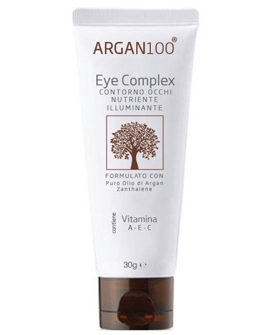 ARGAN100 EYE COMPLEX CONTORNO OCCHI NUTRIENTE ILLUMINANTE 30 ML - Farmaci.me