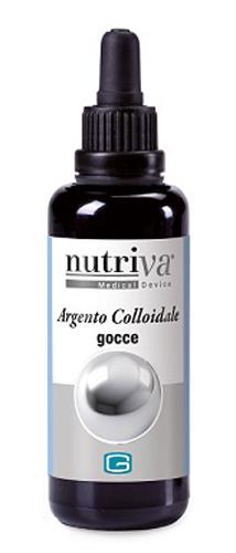 ARGENTO COLLOIDALE NUTRIVA GOCCE 50 ML - Farmacia Centrale Dr. Monteleone Adriano