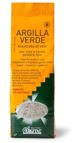 ARGILLA VERDE FINE 1000 G - Farmacia Centrale Dr. Monteleone Adriano