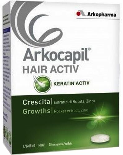 ARKOCAPIL HAIR ACTIV 3X30CPR - Farmacia Centrale Dr. Monteleone Adriano