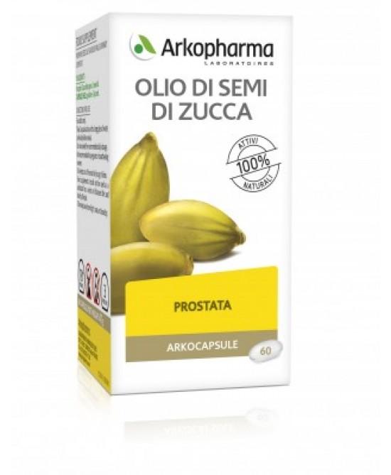 Arkocapsule Olio di Semi di Zucca Bio 60 Capsule - latuafarmaciaonline.it