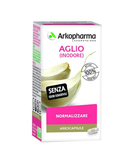 Arkocapsule Aglio Integratore Alimentare Ipertensione 45 Capsule - latuafarmaciaonline.it