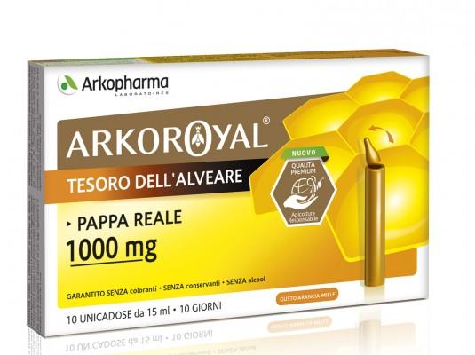 ARKOROYAL PAPPA REALE 1000MG 20 FIALE BIO - Farmalandia