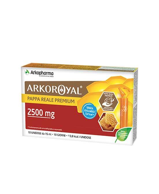 Arkoroyal Pappa Reale 2500 Mg Senza Zucchero 10 Fiale - latuafarmaciaonline.it