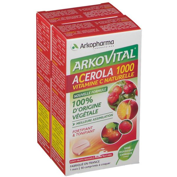 Arkovital Acerola 1000 Pack Family 60 Compresse - Sempredisponibile.it