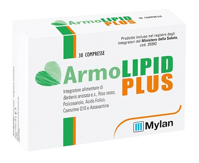 ARMOLIPID PLUS+ 30 COMPRESSE - Farmacia Castel del Monte