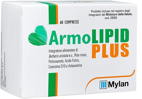 MEDA PHARMA  ARMOLIPID PLUS 60 COMPRESSE ORIGINALE - FARMAPRIME
