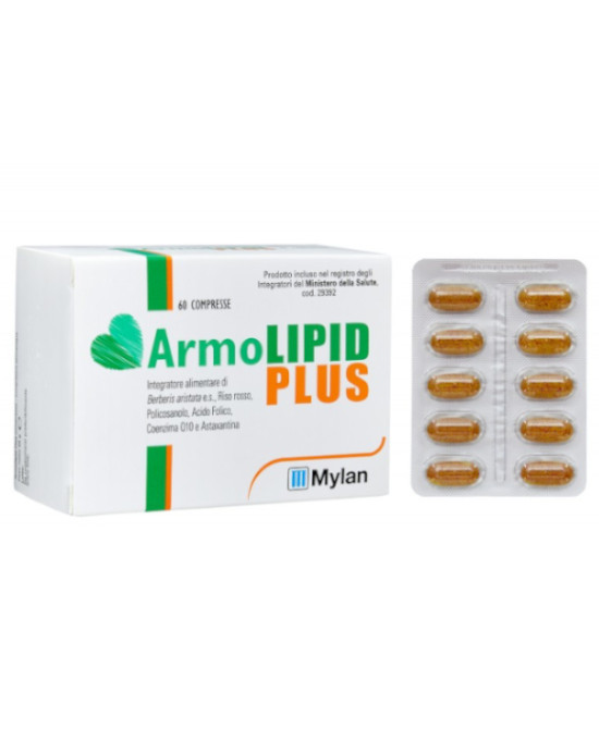 ARMOLIPID PLUS 60 COMPRESSE - Farmaci.me