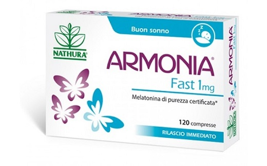 ARMONIA FAST 1 MG MELATONINA 120 COMPRESSE - Farmastar.it