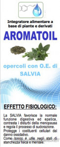 AROMATOIL SALVIA 50 OPERCOLI - Farmabros.it