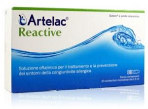 Artelac Reactive Soluzione Oftalmica 10 Monodose - Farmacia 33