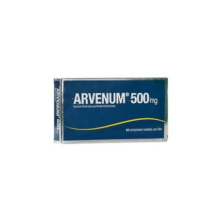 Arvenum 500mg 60 Compresse Rivestite - Farmafamily.it